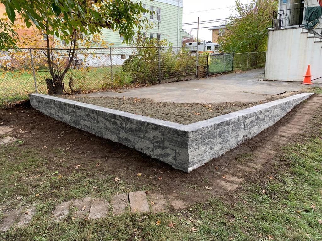 Retaining wall in new jersey
