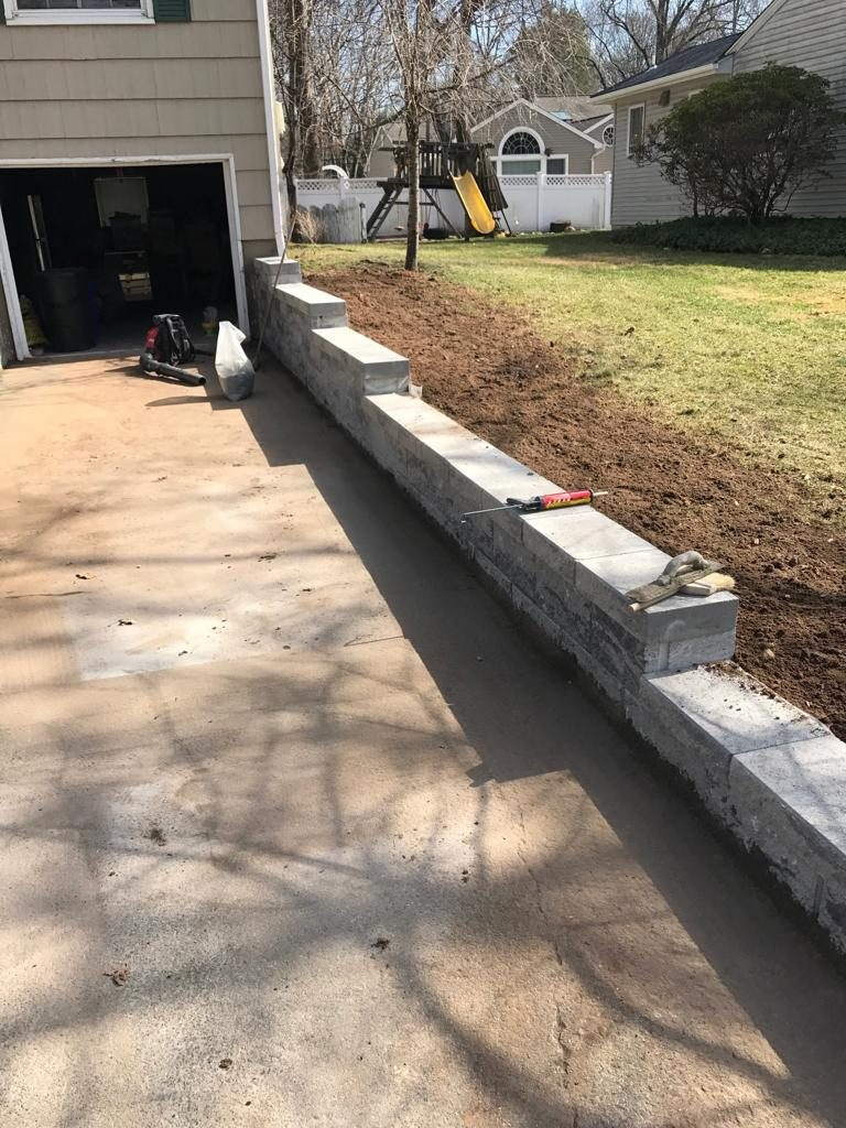 Retaining Wall paving in new jersey
