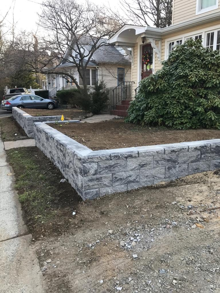 Retaining Wall commercial in nj