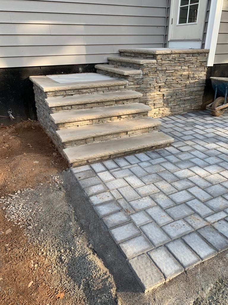 backyard stairs in new jersy